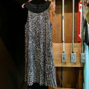 Size 12 black & grey dress